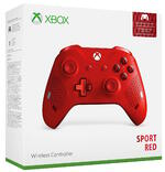 Wireless Controller - Edizione Speciale Sport Red