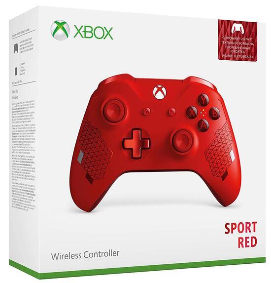 Wireless Controller - Edizione Speciale Sport Red