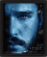 Poster Lenticolare 3D Game Of Thrones - Jon Snow & The Night King
