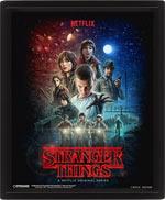 Poster Lenticolare 3D Stranger Things