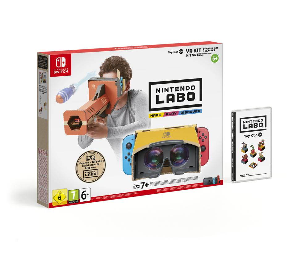 Nintendo Labo - Toy-Con Kit VR (Set Base + Blaster)