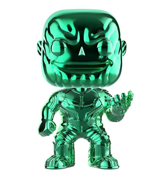 Funko Pop! - Thanos Chrome (Avengers Infinity War)