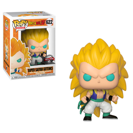 Funko Pop! - Gotenks Super Saiyan 3 (Dragon Ball Z)
