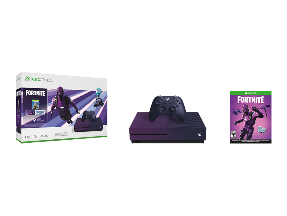 Xbox One S 1TB + Fortnite Battle Royale Special Edition
