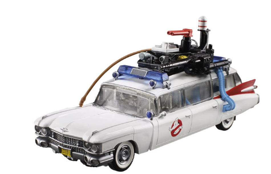Action Figure Transformers/Ghostbusters - Cadillac Echo-1 Ectotron