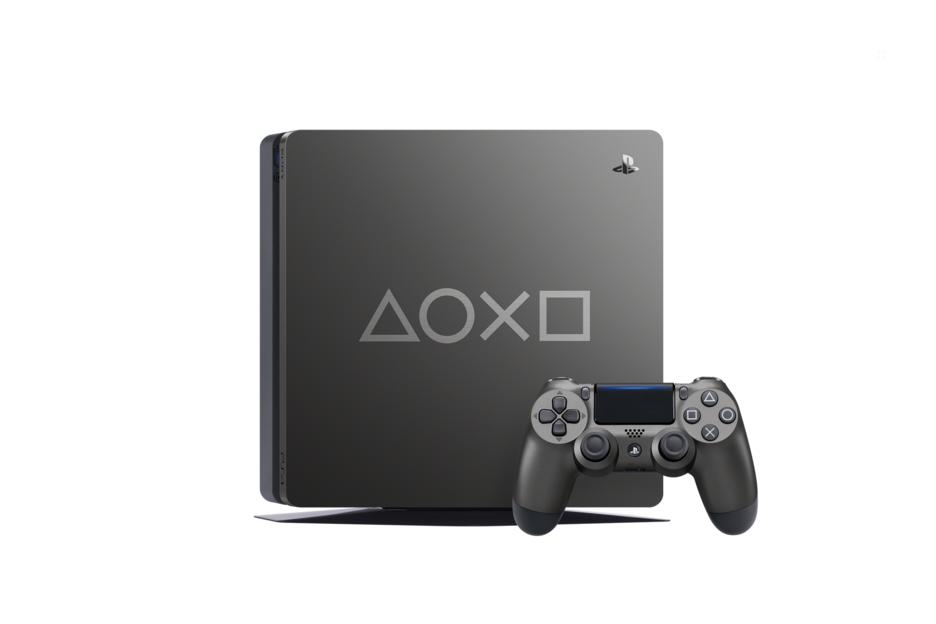 PS4 Slim 1TB - Days Of Play Limited Edition