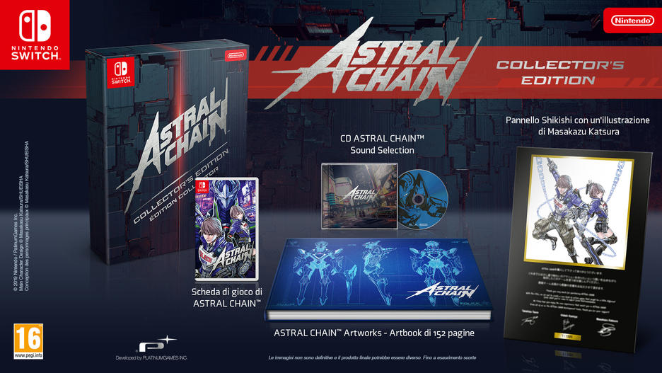 ASTRAL CHAIN - Collector's Edition