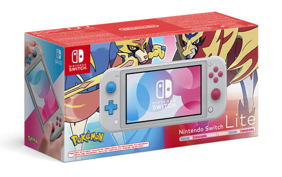 Nintendo Switch Lite - Zacian & Zamazenta Edition