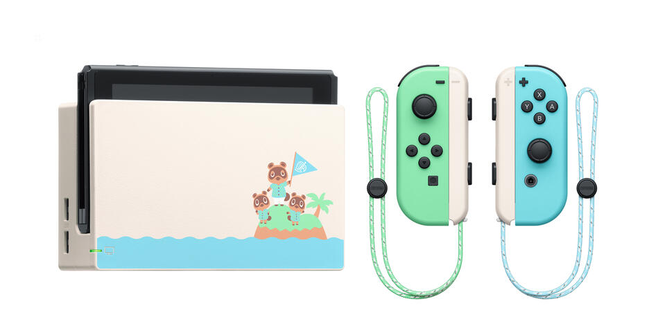Nintendo Switch Limited Edition + Animal Crossing