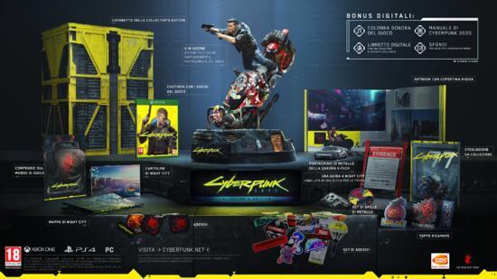 Cyberpunk 2077 - Collector's Edition (Compatibile con Xbox One)