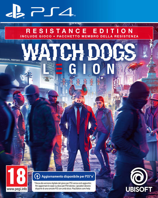 Watch Dogs: Legion - Resistance Edition