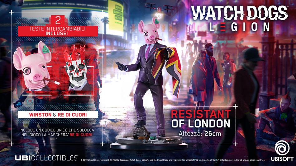 Figure Watch Dogs: Legion - Resistant Of London