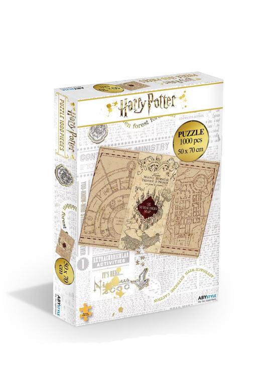 Puzzle Harry Potter - Mappa Del Malandrino