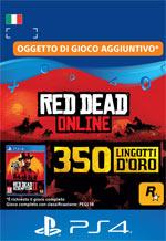 Red Dead Redemption II - 350 Lingotti D'Oro