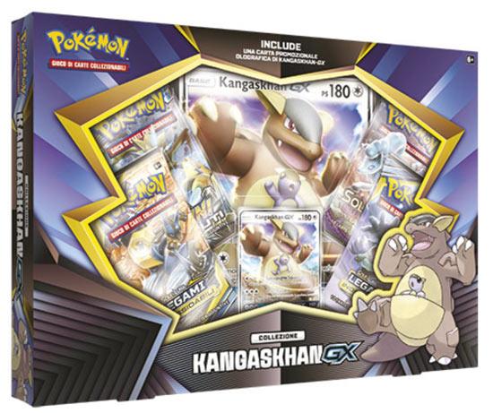 Carte Pokèmon - Collezione Kangaskhan GX