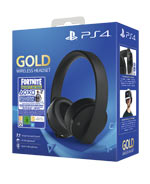 Headset Gold Wireless + Voucher Fortnite