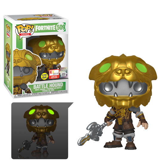 Funko Pop! - Battle Hound Glow in the Dark (Fortnite)