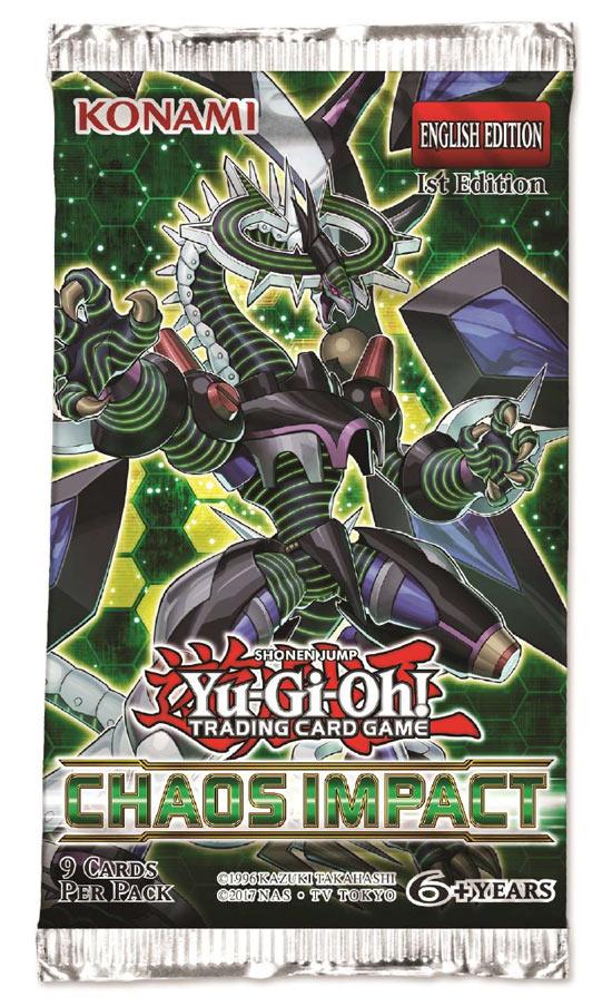 Carte Yu-Gi-Oh - Impatto Del Chaos - Bustina