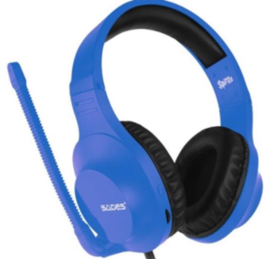 Headset Sades Spirits - Blu