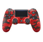 Controller Wireless DUALSHOCK®4 - Red Camouflage