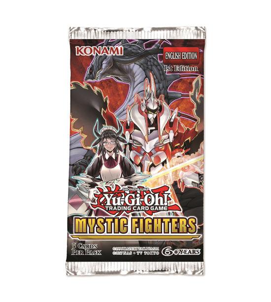Carte Yu-Gi-Oh - Mystic Fighters - Bustina