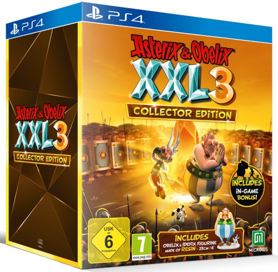Asterix & Obelix XXL3: The Crystal Menhir - Collector Edition
