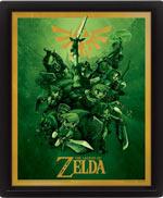 Poster 3D The Legend Of Zelda - Link