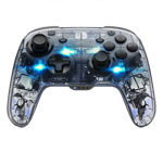 Controller Deluxe PDP - Afterglow Luce Blu Wireless