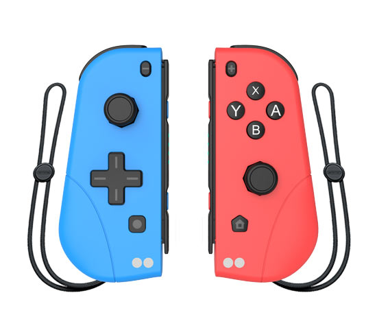 Joy-Con Two Dots - Blu e Rosso (Switch)