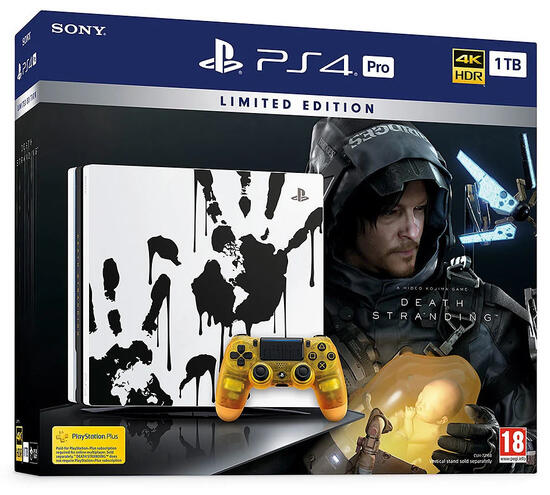 PS4 Pro 1TB + Death Stranding - Limited Edition