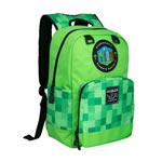 Zaino Minecraft - Miner's Society Verde