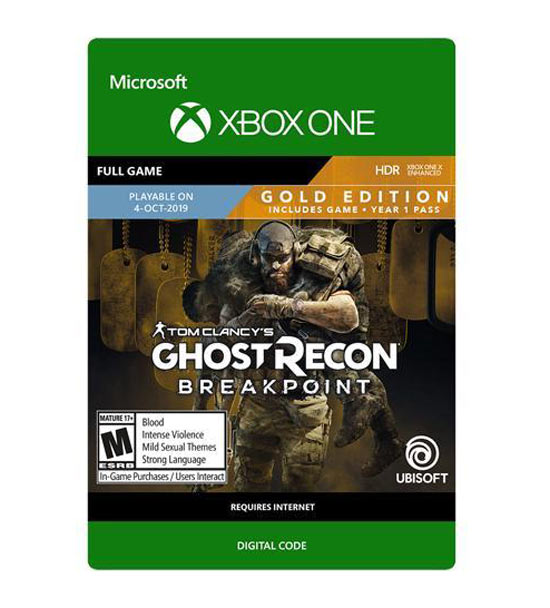 Tom Clancy's Ghost Recon Breakpoint - Gold Edition
