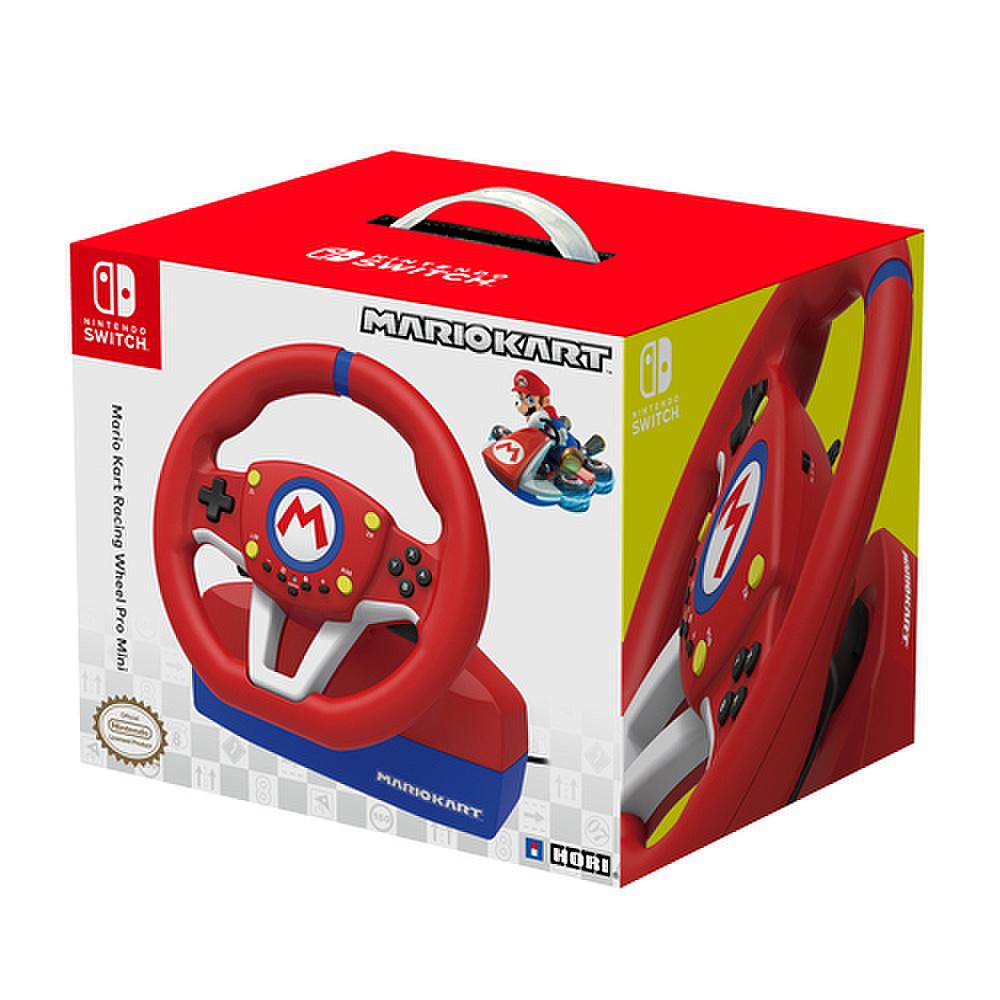 Volante HORI Mario Kart con Pedaliera