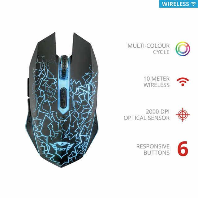 Mouse Trust - GXT107 Izza (Wireless)