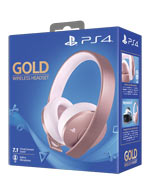 Headset Sony - Gold Wireless - Rose Gold