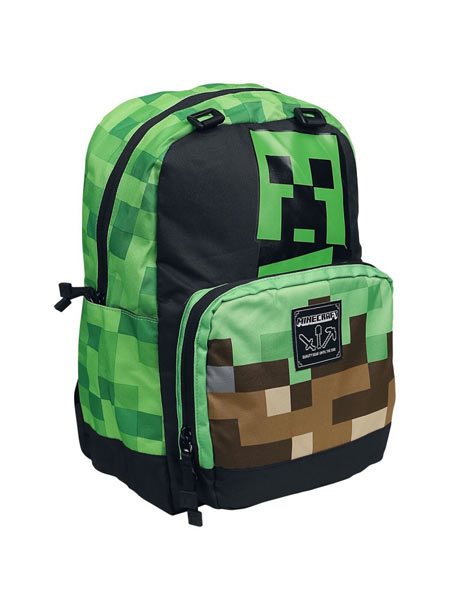 Zaino Minecraft - Creepy Things