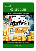APB Reloaded - 1600 G1C + 80 Bonus