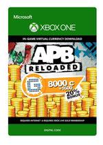 APB Reloaded - 8000 G1C + 1600 Bonus