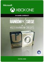RAINBOW SIX SIEGE - 4920 Rainbow Six Credits