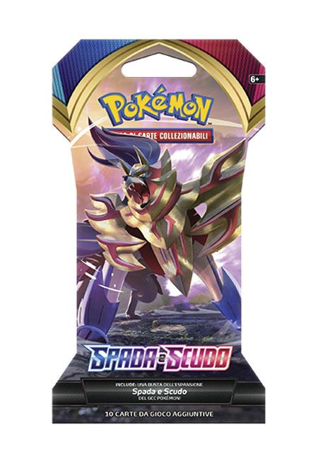 1 bustina Pokemon Spada e Scudo Buste
