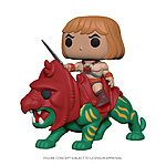 Funko Pop! - He-Man on Battle Cat (Master Of The Universe)