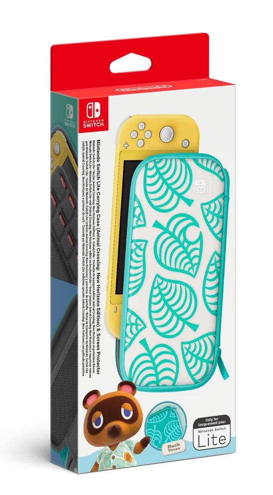 Custodia Protettiva Switch Lite + Pellicola - Animal Crossing New Horizons