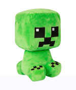 Peluche Minecraft - Creeper (Crafter) - 22 cm