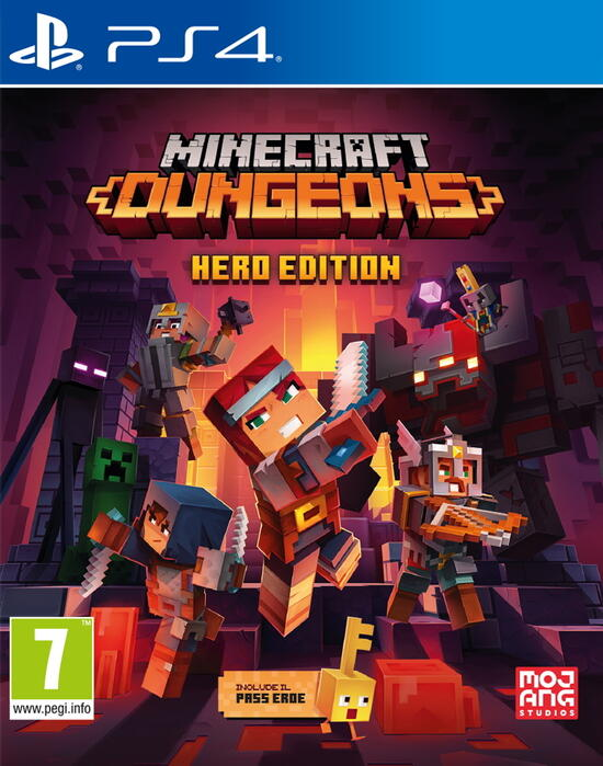 Minecraft Dungeons - Edizione Eroe per PS4