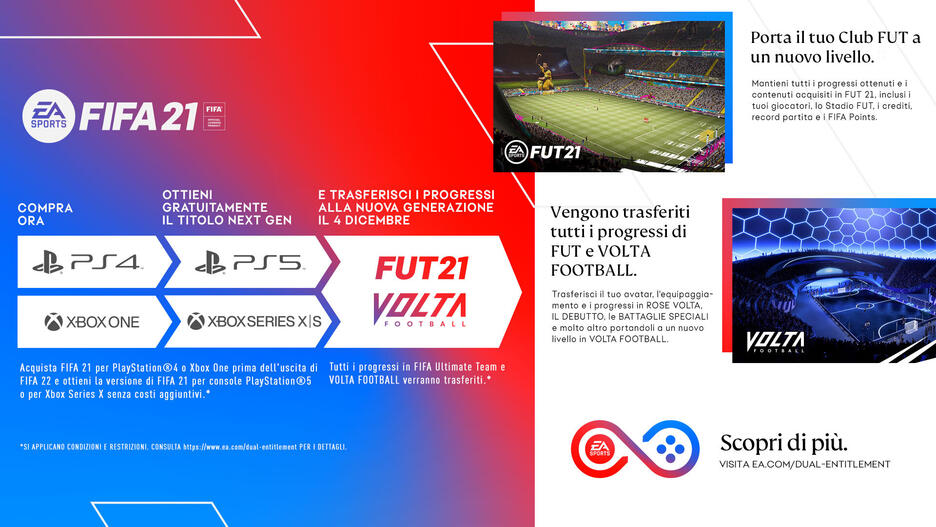 Fifa 21 - Ultimate Edition (include upgrade gratuito per Xbox Series X)