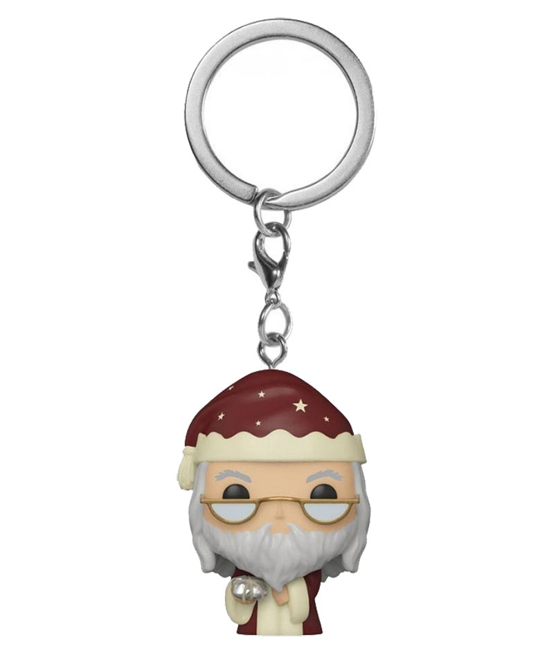 Portachiavi Funko Pop! - Holiday Albus Dumbledore (Harry Potter)