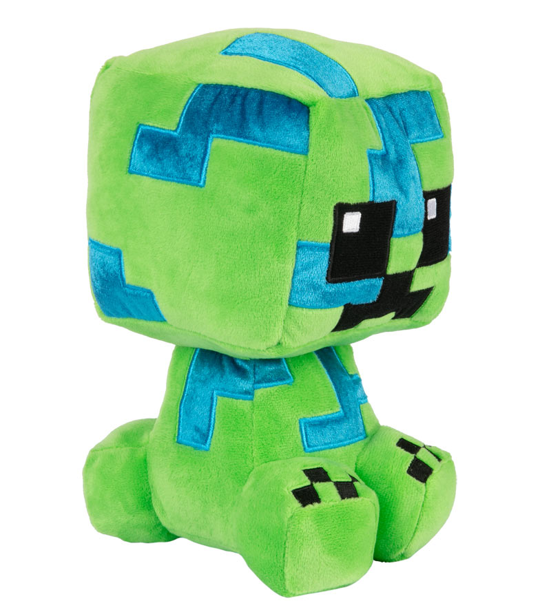 Peluche Minecraft - Charged Creeper (Crafter) - 22 cm