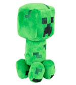Peluche Minecraft - Creeper (Happy Explorer) - 18 cm