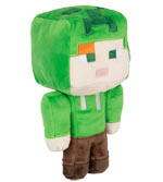 Peluche Minecraft - Alex Creeper (Happy Explorer) - 18 cm