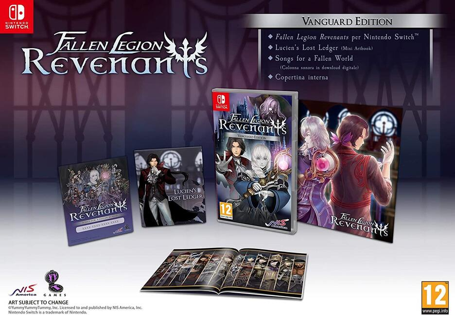 Fallen Legion Revenants - Vanguard Edition